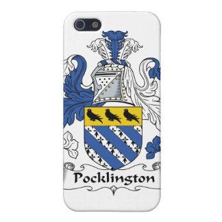 Escudo de la familia de Pocklington iPhone 5 Fundas