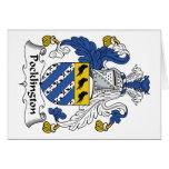 Escudo de la familia de Pocklington Tarjetas