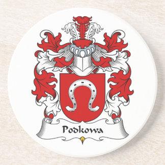 Escudo de la familia de Podkowa Posavaso Para Bebida