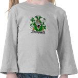 Escudo de la familia de Podmore Camiseta