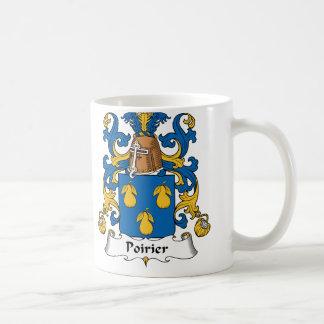 Escudo de la familia de Poirier Taza