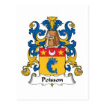 Escudo de la familia de Poisson Postal