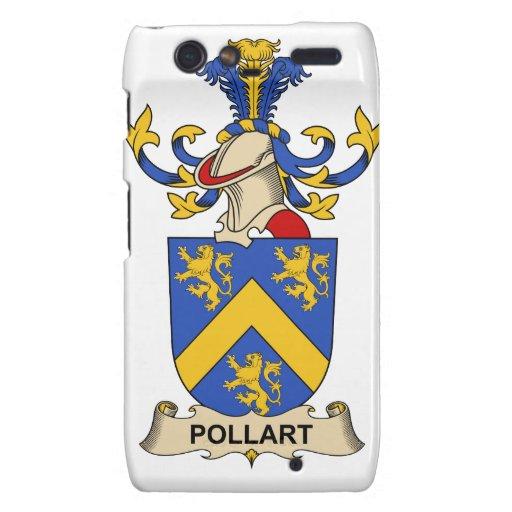 Escudo de la familia de Pollart Droid RAZR Carcasas