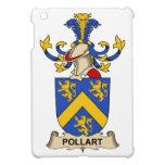 Escudo de la familia de Pollart iPad Mini Coberturas