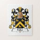 Escudo de la familia de Pollet Puzzles Con Fotos
