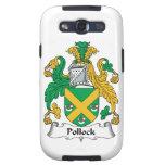Escudo de la familia de Pollock Samsung Galaxy S3 Cárcasas