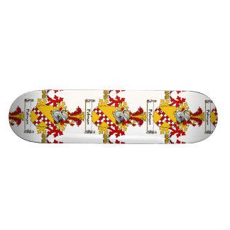 Escudo de la familia de Polman Tabla De Skate
