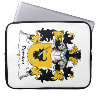 Escudo de la familia de Pomian Mangas Portátiles
