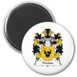 Escudo de la familia de Pomian Imán De Frigorífico