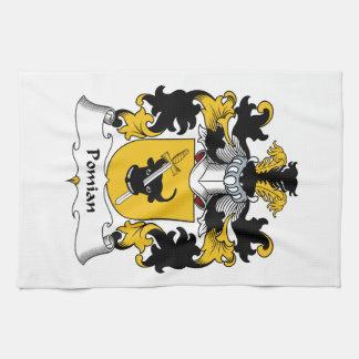 Escudo de la familia de Pomian Toalla De Cocina