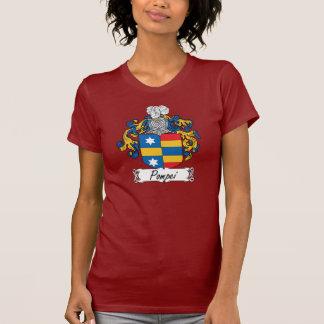Escudo de la familia de Pompeya Camisetas