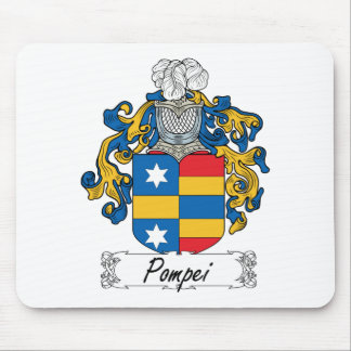 Escudo de la familia de Pompeya Tapete De Ratones