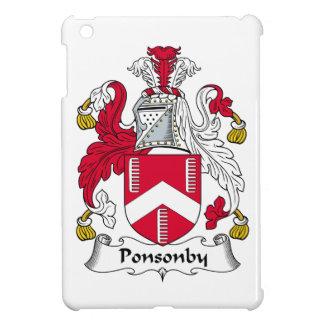 Escudo de la familia de Ponsonby iPad Mini Protector