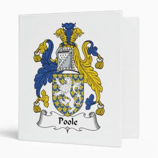 Escudo de la familia de Poole