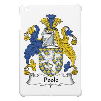 Escudo de la familia de Poole iPad Mini Carcasas
