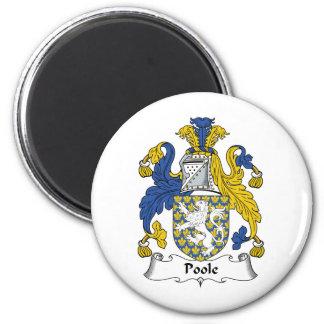 Escudo de la familia de Poole Iman De Frigorífico