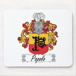 Escudo de la familia de Popolo Alfombrilla De Ratones
