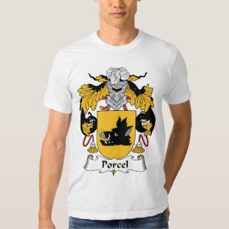 Escudo de la familia de Porcel Poleras