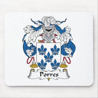 Escudo de la familia de Porres Mouse Pads