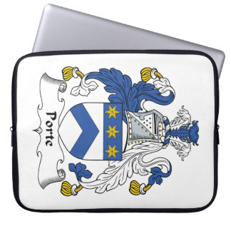 Escudo de la familia de Porte Funda Ordendadores