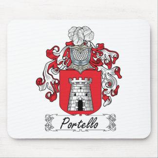 Escudo de la familia de Portello Alfombrilla De Raton