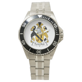 Escudo de la familia de Porterfield Reloj De Mano