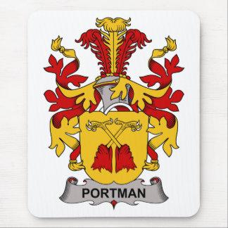 Escudo de la familia de Portman Mouse Pad