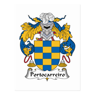 Escudo de la familia de Portocarreiro Postales