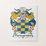 Escudo de la familia de Portocarreiro Puzzles Con Fotos