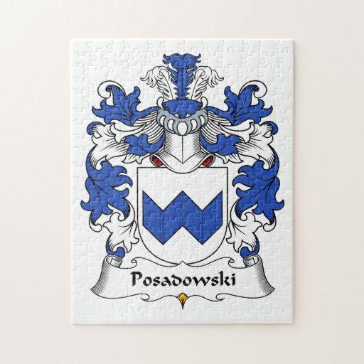 Escudo de la familia de Posadowski Puzzles Con Fotos