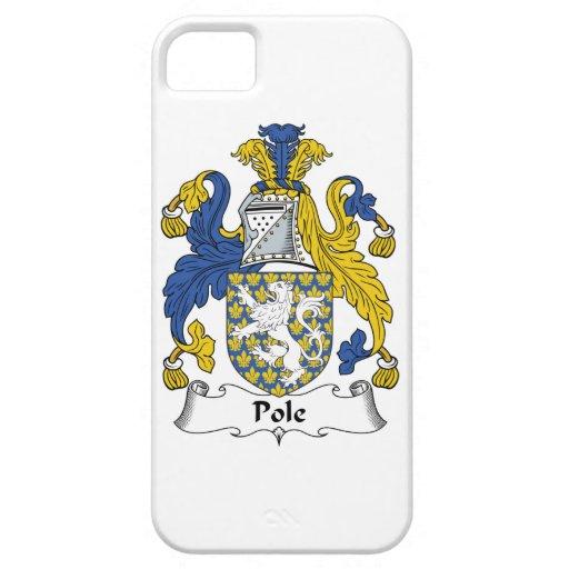 Escudo de la familia de poste iPhone 5 Case-Mate funda