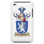 Escudo de la familia de Potendorff iPod Touch Fundas