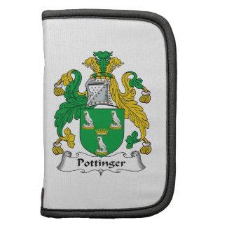 Escudo de la familia de Pottinger Planificadores