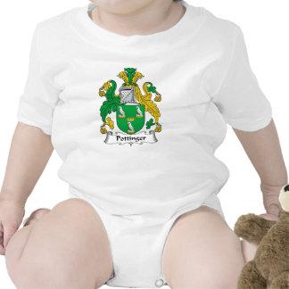 Escudo de la familia de Pottinger Trajes De Bebé