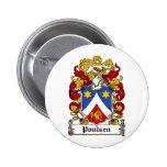 Escudo de la familia de Poulsen Pin
