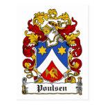 Escudo de la familia de Poulsen Postal