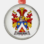 Escudo de la familia de Poulson Ornamentos De Reyes
