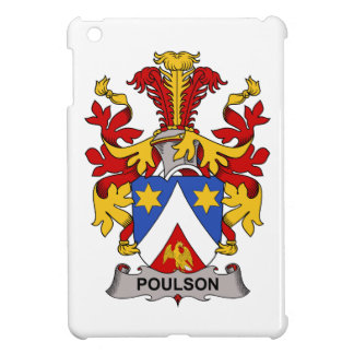 Escudo de la familia de Poulson iPad Mini Protector