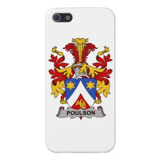 Escudo de la familia de Poulson iPhone 5 Cobertura