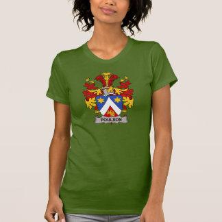 Escudo de la familia de Poulson Camisetas