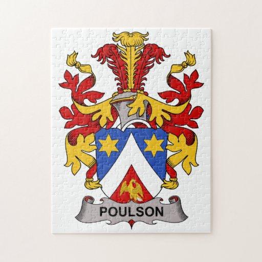 Escudo de la familia de Poulson Puzzles