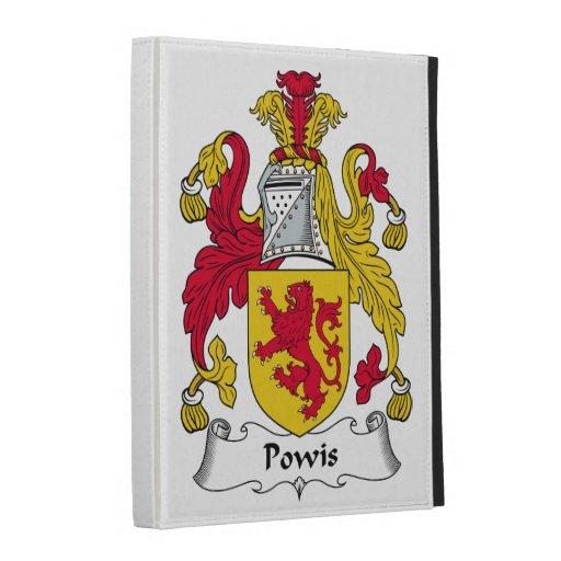 Escudo de la familia de Powis