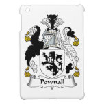 Escudo de la familia de Pownall iPad Mini Carcasas