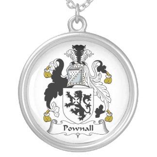 Escudo de la familia de Pownall Joyería