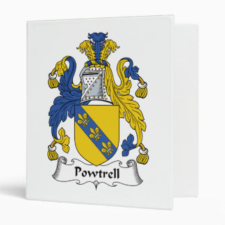 Escudo de la familia de Powtrell