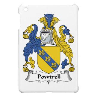 Escudo de la familia de Powtrell iPad Mini Cárcasa