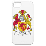 Escudo de la familia de Powys iPhone 5 Case-Mate Funda