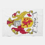 Escudo de la familia de Powys Toalla De Mano