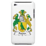Escudo de la familia de Poyner iPod Case-Mate Protector