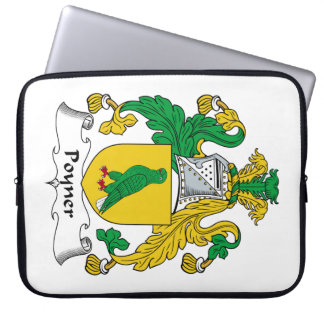 Escudo de la familia de Poyner Fundas Ordendadores